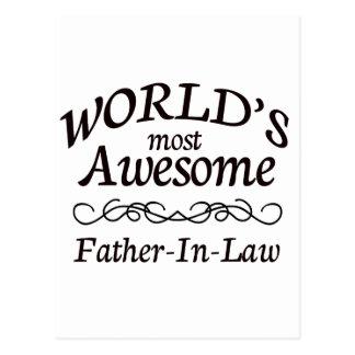 Le beau-père le plus impressionnant du monde cartes postales