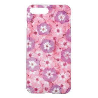 le beau pourpre rose fleurit l'art coque iPhone 7 plus
