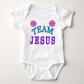 Le bébé chrétien de Jésus d'équipe vêtx en ligne Body