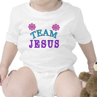 Le bébé chrétien de Jésus d'équipe vêtx en ligne T-shirt