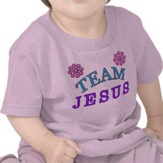 Le bébé chrétien de Jésus d'équipe vêtx en ligne T-shirts