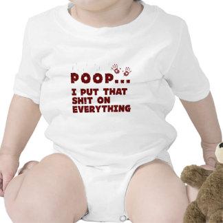le bébé drôle vêtx des énonciations - chemise de barboteuse
