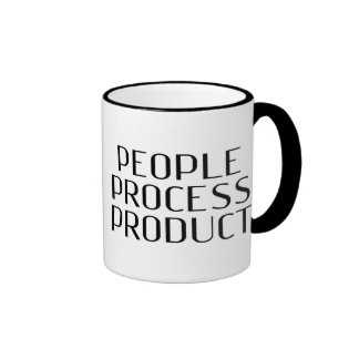 """Le bénéfice - """"produit de processus de personnes """" mug ringer"""