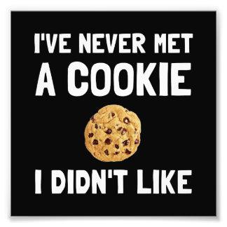 Le biscuit aiment photo sur toile