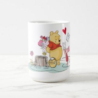 Le bonbon à Winnie the Pooh et à porcelet | aiment Mug
