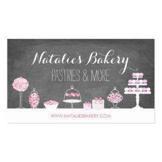 Le bonbon traite la boulangerie de tableau carte de visite standard
