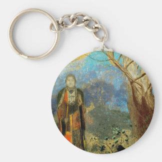 Le Bouddha (The Buddha) Basic Round Button Keychain
