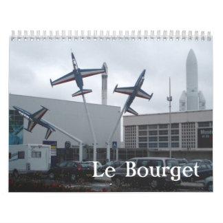 Le Bourget Calendar