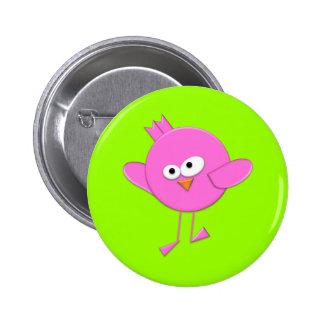Le bouton de l'oiseau génial d'imaginaire de bonbo badge