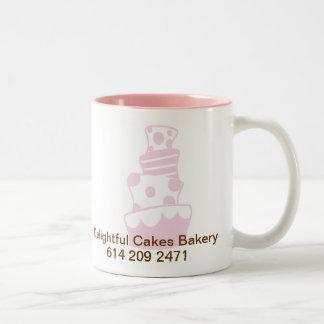 Le C.C DURCISSENT 20%PINK, la boulangerie Mug Bicolore