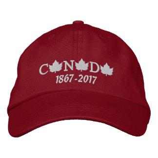 Le Canada 150 a brodé la casquette de baseball