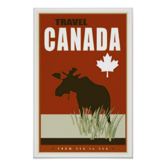 Le Canada Affiches