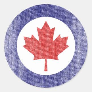 LE CANADA ADHÉSIFS RONDS