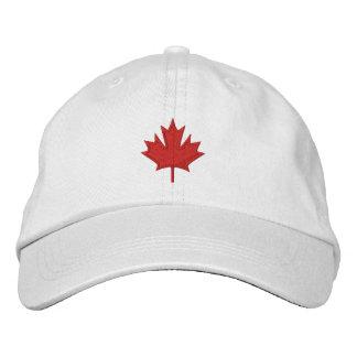 Le Canada Casquettes Brodées
