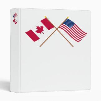 Le Canada et les drapeaux croisés par Etats-Unis