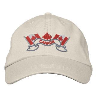 Le Canadien marque le chapeau Chapeau Brodé