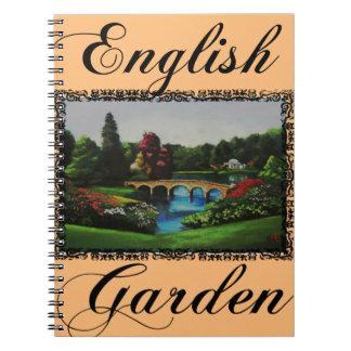 Le carnet anglais de collection de jardin