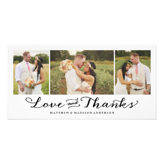 Le carte photo l'épousant de Merci de l'amour le Photocarte