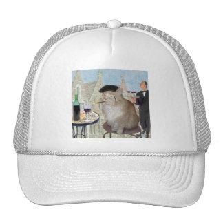 Le Cat du Cafe Trucker Hat