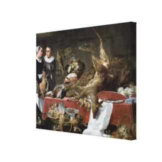 Le Cellier Canvas Print