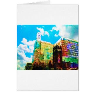 le centre ville vibrant carte de vœux