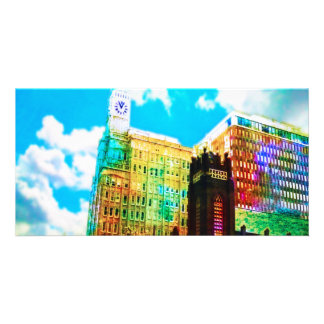 le centre ville vibrant cartes avec photo