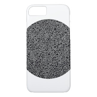 Le cercle noir pointille le cas 6s de l'iPhone 7 Coque iPhone 7