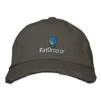 Le chapeau de FatDrop.pr a brodé la casquette de b Casquette De Baseball