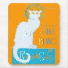 Le Chat Blanc Parody Of Le Chat Noir Mouse Pad