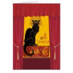 Le Chat D'Amour (iii) Carte De Vœux