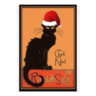 Le Chat Noel Personalized Invitations