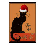 Le Chat Noel Poster