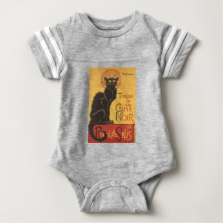 Le Chat Noir Art Print Baby Bodysuit
