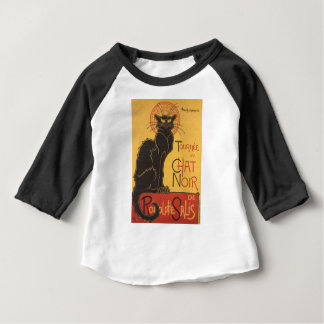 Le Chat Noir Art Print Baby T-Shirt