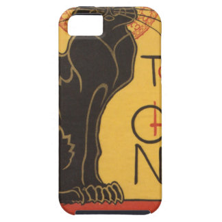Le Chat Noir Art Print Case For The iPhone 5