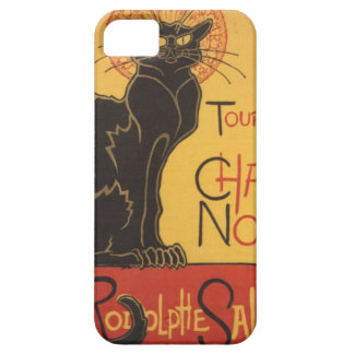 Le Chat Noir Art Print iPhone 5 Cases