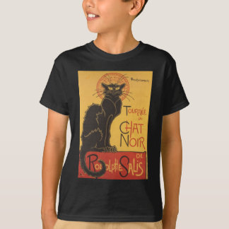 Le Chat Noir Art Print T-Shirt