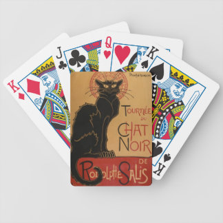 Le Chat Noir Bicycle Playing Cards