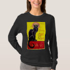 Le Chat Noir Black Cat Vintage Cabaret T Shirt