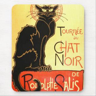 Le chat noir,Original billboard Mouse Pad