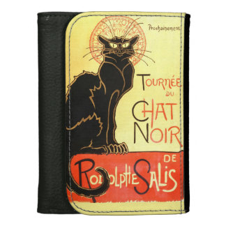 Le chat noir,Original billboard Women's Wallets