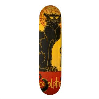Le Chat Noir The Black Cat Art Nouveau Vintage Skate Boards
