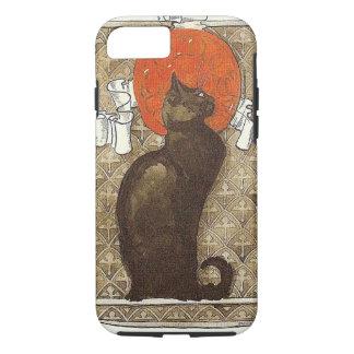 LE CHAT NOIR THÉOPHILE STEINLEN BLACK CAT FRENCH iPhone 8/7 CASE