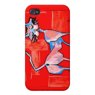 Le Chat Snob iPhone 4/4S Cases