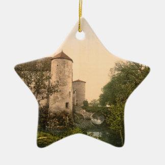 Le Chaussin, Vichy, France Ceramic Ornament