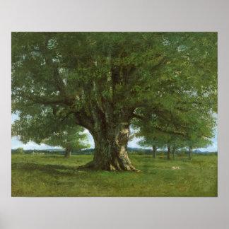 Le chêne de Flagey appelé Vercingetorix Posters