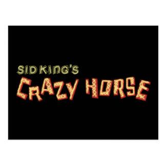 le cheval fou du roi de Sid Cartes Postales