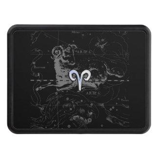 Le chrome aiment le symbole de zodiaque de Bélier Couverture Remorque D'attelage