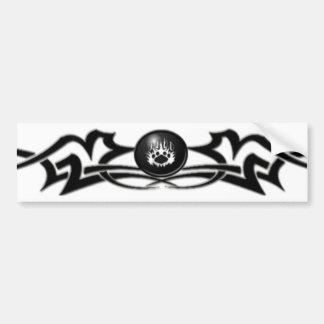 Le clan de Blackwolf : Adhésif pour pare-chocs tri Autocollant De Voiture