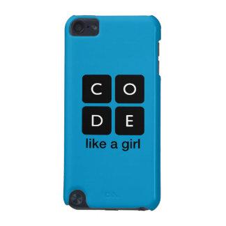 Le code aiment une fille coque iPod touch 5G